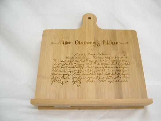 Recipe Cutting Board - Easel