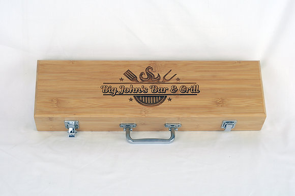 Bamboo BBQ Set