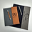 Thumbnail: Canvas/Leatherette Padfolio with Matching Pen