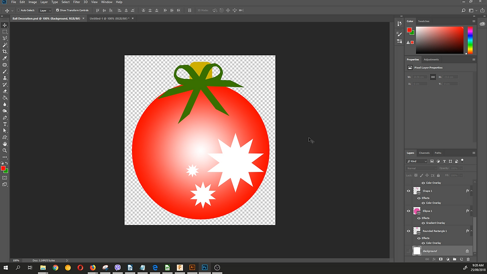 Photoshop-Decoration