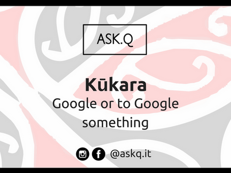 Māori Words In Tech Workshops And More...