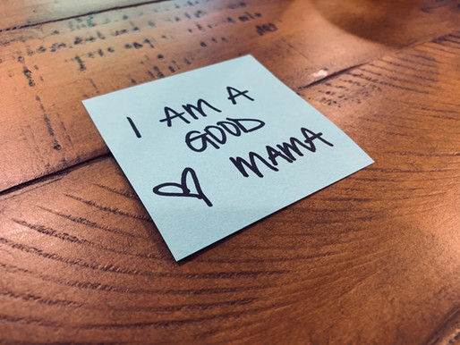 """You're more than """"Good enough"""" Mama - You're """"Good"""" plain and simple."""