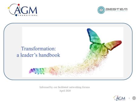 Transformation - a leader's handbook
