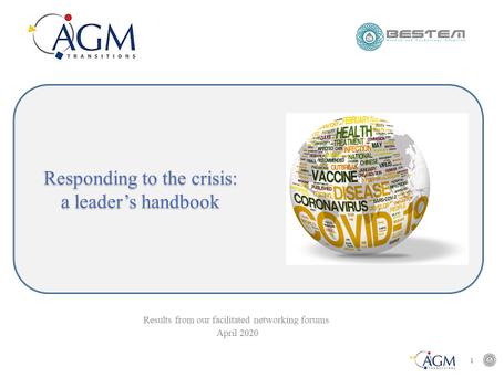 Responding to the crisis - a leader's handbook