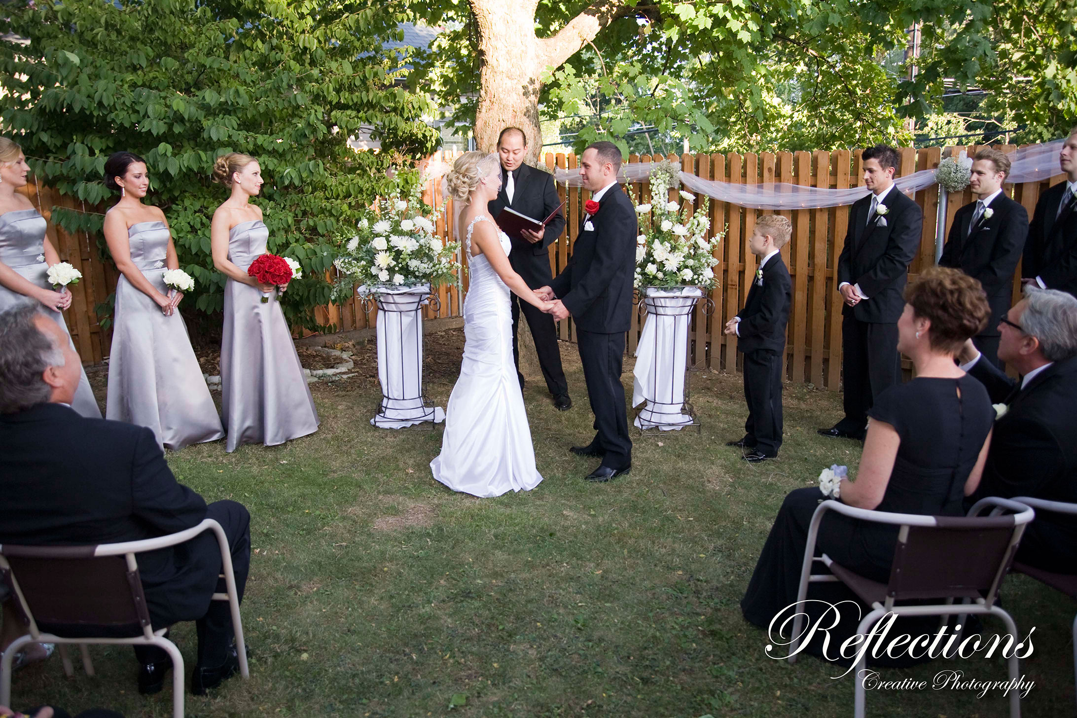 Outdoor Garden Wedding