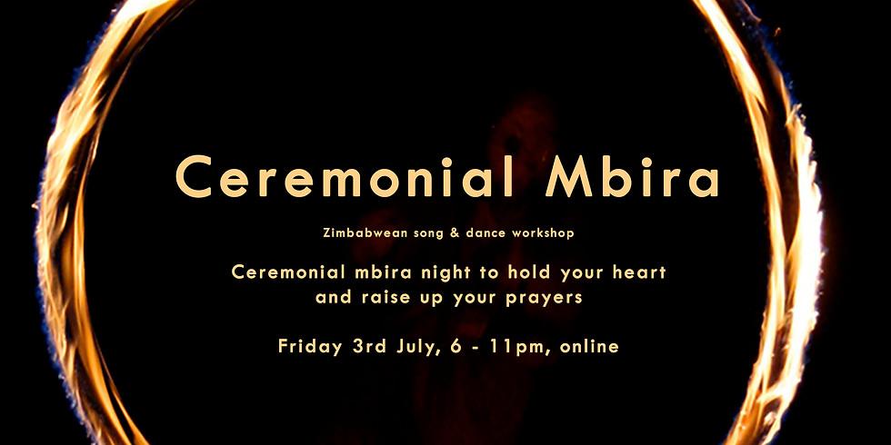 Earth Rising:  Ceremonial Mbira