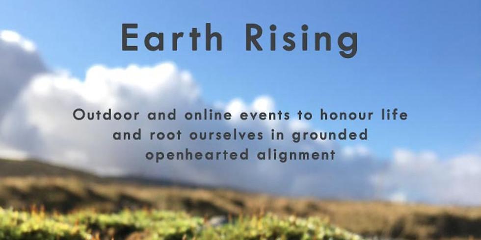 Earth Rising:  Women Walking
