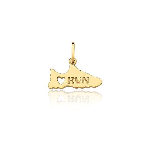 Pingente Love Run