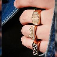 Anéis Masculinos.