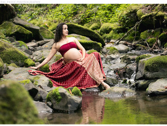 Maternity Session, Forest Park in Portland, OR
