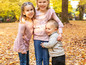 Fall Family Photos at Laurelhurst Park