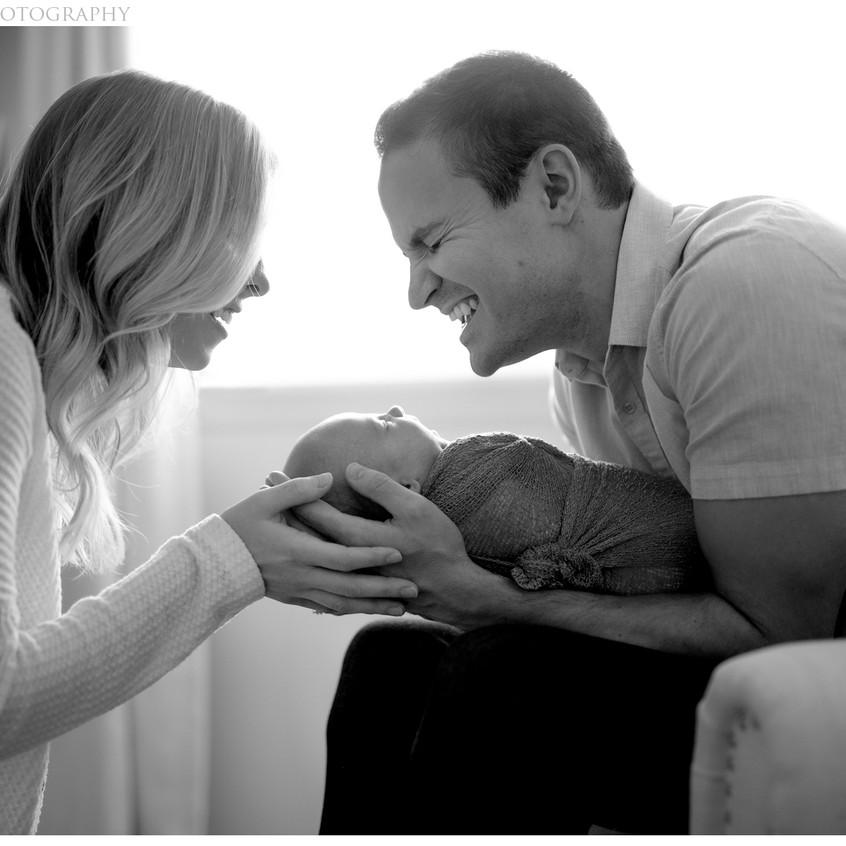 Newborn Session At Home