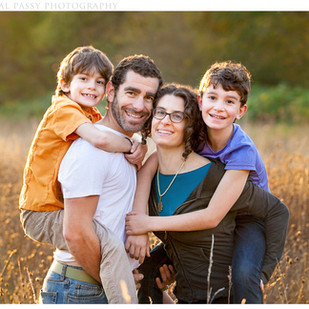 Fall Family Portraits in Columbia River Gorge