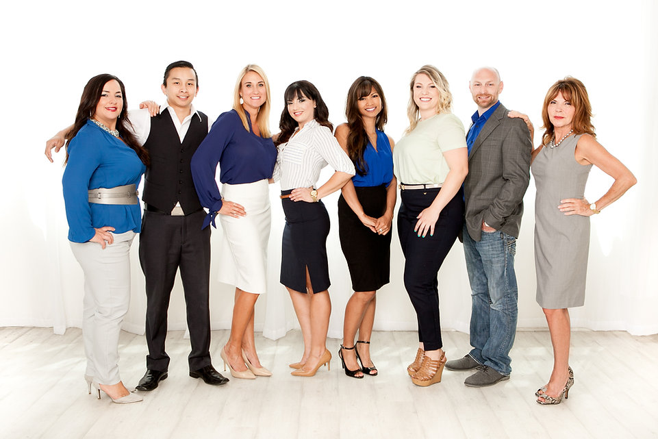 Group busines portrait photography