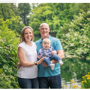 Family Session at Laurelhurst Park