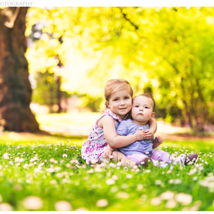 Spring Child Portrait Photography at Laurelhurst Park in Portland, OR