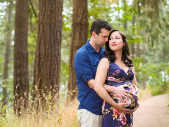 Maternity Session at Mt. tabor Park in Portland, OR