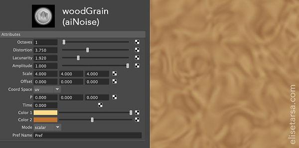 Procedural Wood Grain Texture