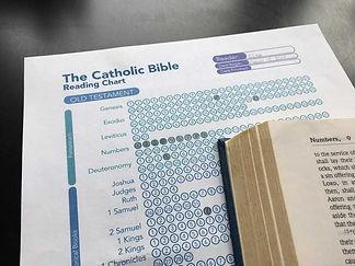 Catholic Bible Reading Chart