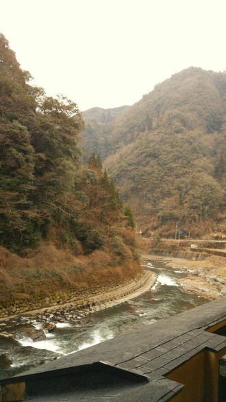 大分と熊本県境のホテルにて