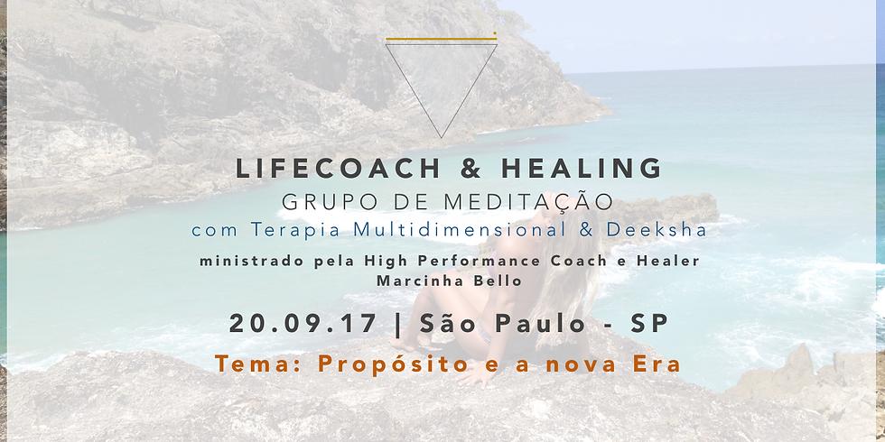 LifeCoach & Healing Grupo de Meditação dia 20.09.17 em SP!
