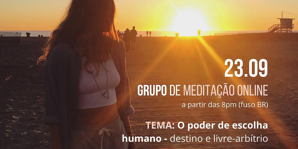 Meditação Emana (online - ao vivo) | O poder de escolha: destino e livre-arbítrio