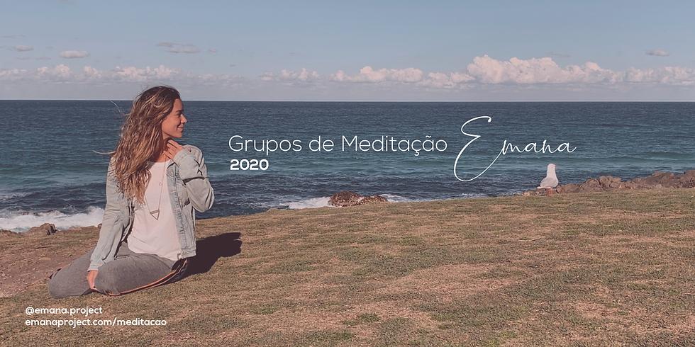 Meditação Emana (online - ao vivo) || HA BREATH (Técnicas de Respiração)