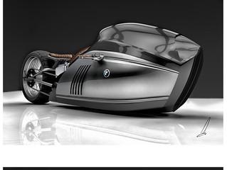 Концепт мотоцикла BMW K75 Alpha