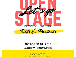 PARTNER #2: OPEN STAGE & PROPTECH MEETUP by CASAVI