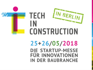 PARTNER: TECH IN CONSTRUCTION - DIE STARTUP-MESSE FÜR INNOVATIONEN IN DER BAUBRANCHE