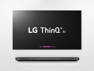 Телевизор c искусственным интеллектом ThinQ AI