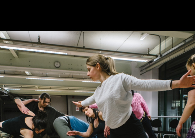 Movement workshop with Phil Sanger