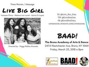 LIVE BIG GIRL AT BAAD!