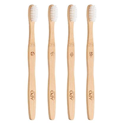 Brosse à dents en Bambou pour ADULTE