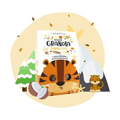 Mon Petit Granola bio - Vanille Coco - Nü Morning