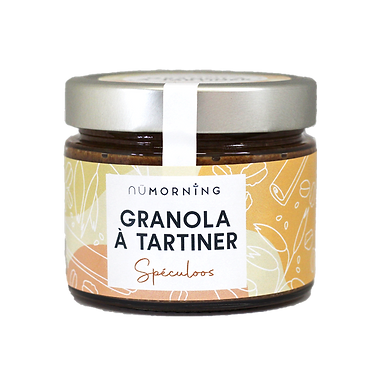 Granola à tartiner bio - Speculoos - nüMorning