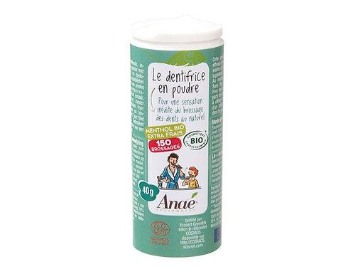 Dentifrice en poudre menthol extra-frais 40 g
