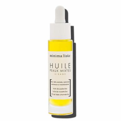 Huile visage peaux mixtes 30 ml - Minima[liste]