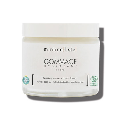 Gommage hydratant corps 125 ml - Minima[liste]
