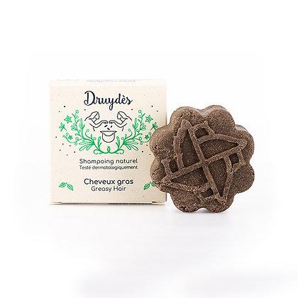 Shampoing Solide bio Cheveux Gras - Druydès
