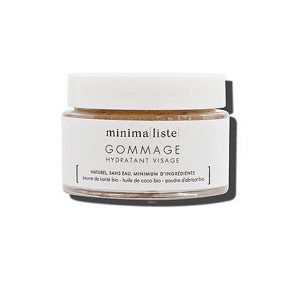 Gommage hydratant visage 50 ml - Minima[liste]