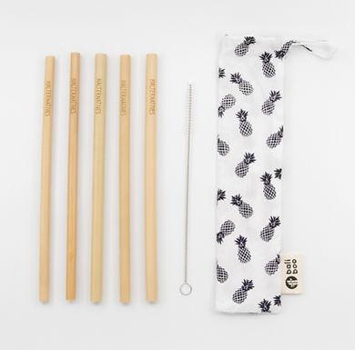 Kit Pailles en Bambou