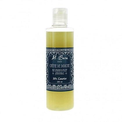 Crème de douche au savon d'Alep 250 ml - Al Bara
