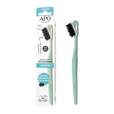 Brosse à dents rechargeable Medium APO France