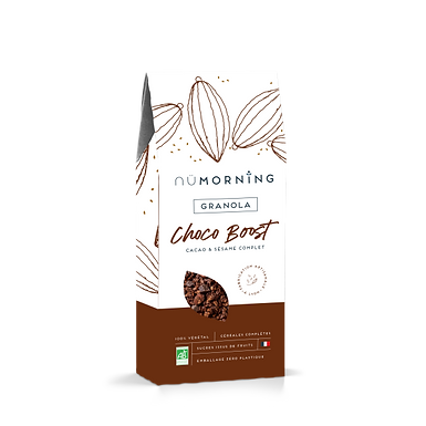 Granola bio - Choco Boost - nüMorning