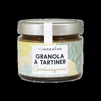 Granola à tartiner bio - Céréales & Graines - Nature - nüMorning