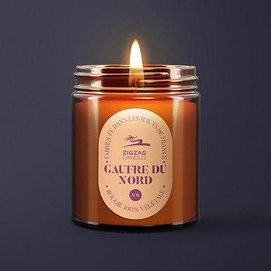 Bougie parfumée - Gaufre du Nord