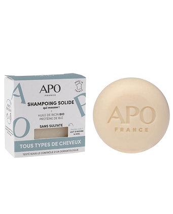 Shampoing solide APO - Tous types de cheveux 75g