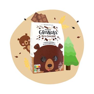 Mon Petit Granola bio - Chocolat - nüMorning