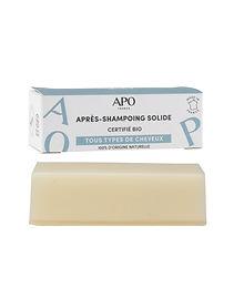Après-shampoing solide APO - Barre démêlante 50g